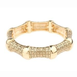 Joan Rivers Parquet Textured Stretch Bracelet